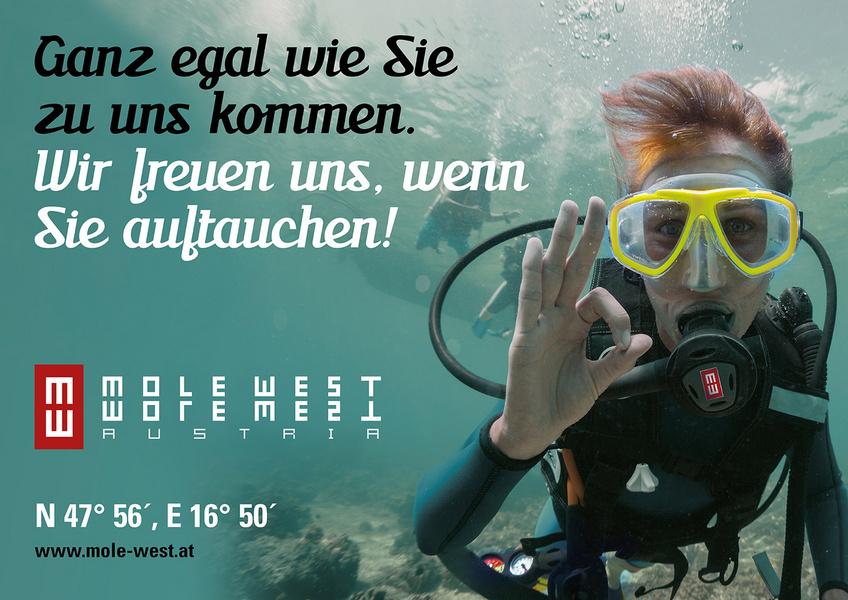 Mole west strandklang  Christof Schlegel WERBEAGENTUR | Burgenland - Neusiedler See: Design