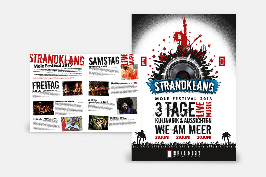 Mole west strandklang  Christof Schlegel WERBEAGENTUR   Burgenland - Neusiedler See: Text